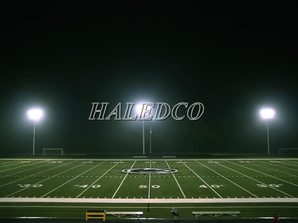 Ứng dụng đèn pha led HLFL9-20w chiếu điểm
