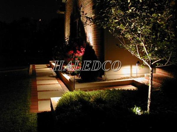 Ứng dụng của đèn led âm đất HLUG1-5w