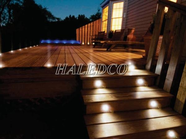 Ứng dụng chiếu sáng của đèn led âm đất HLUG2-16w