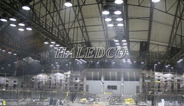 Ứng dụng chiếu sáng của đèn led nhà xưởng HLHB1-100w