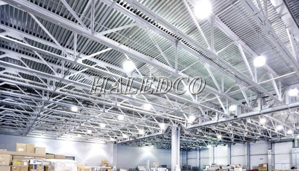 Ứng dụng chiếu sáng của đèn led nhà xưởng HLHB2-150w