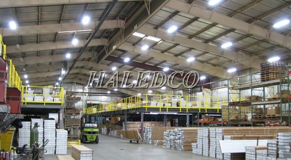 Ứng dụng đèn led nhà xưởng HLHB4-150w chiếu sáng nhà máy sản xuất