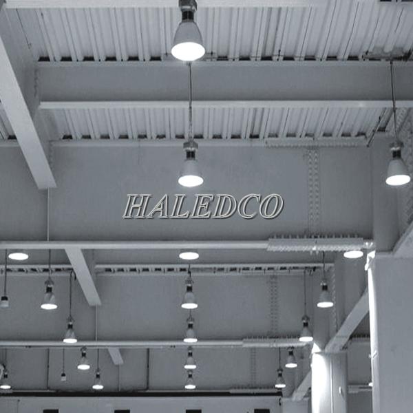 Ứng dụng chiếu sáng đèn nhà xưởng HLHB4-50w