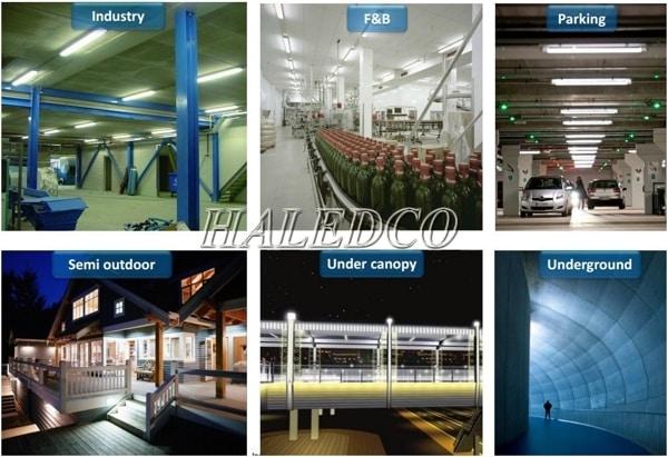 Ứng dụng đèn led phòng sạch HLLCR8.1-9w