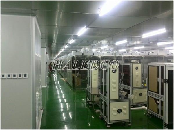 Ứng dụng đèn led phòng sạch HLLCR1.2-18w