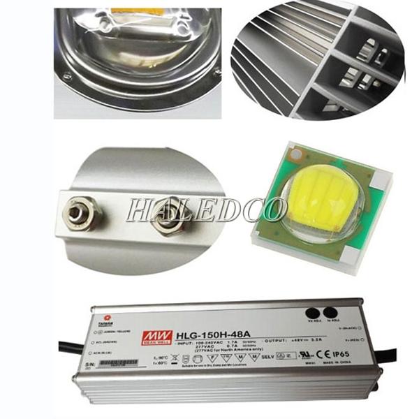 Chíp led, nguồn led của đèn đường led HLS9-50