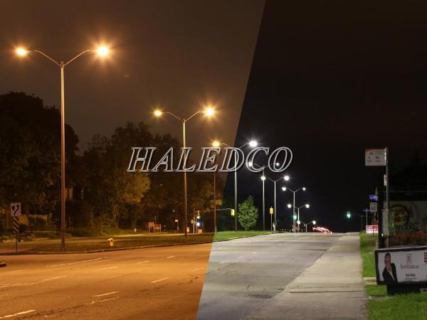 Ứng dụng chiếu sáng của đèn đường led HLS1-100