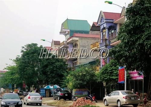 Dự án đèn đường led chiếu sáng đường phố Việt Trì - Phú Thọ