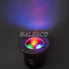 Đèn LED âm đất HLUG1-3 RGB đổi màu