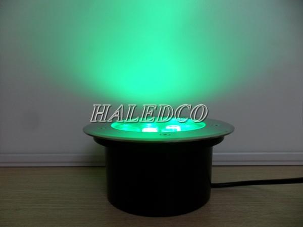 Thân đèn led âm đất HLUG1-24w RGB