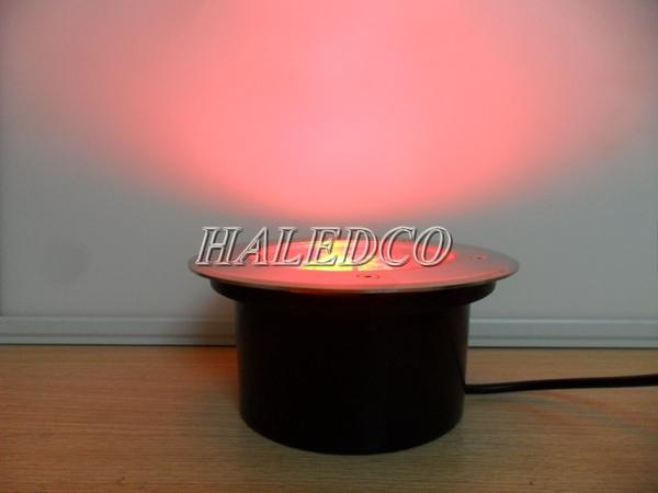 Ánh sáng của đèn led âm đất HLUG1-36w RGB