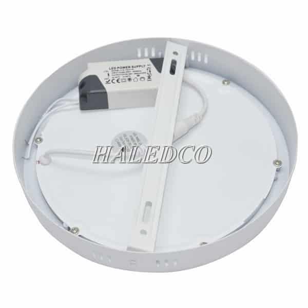 Nguồn đèn LED ốp trần tròn viền trắng HLOT1-12
