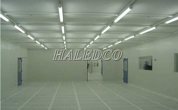 Ứng dụng đèn led phòng sạch HLLCR1.1-18w
