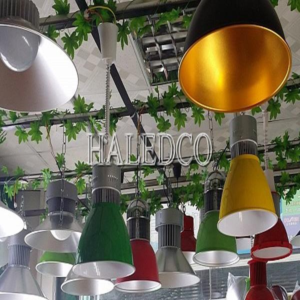 Đèn led thả trần đơn chao tròn HLCL-50w trang trí cafe