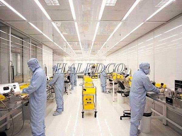 Ứng dụng của đèn led trong chiếu sáng công nghiệp