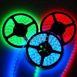Đèn led dây dưới nước đa sắc HLSTUW-5050 RGB
