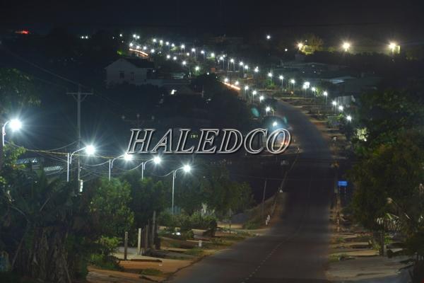 Đèn đường led HLS7-60 chiếu sáng đường đô thị