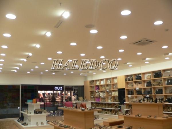 Ứng dụng đèn led âm trần HLDLT2-7w