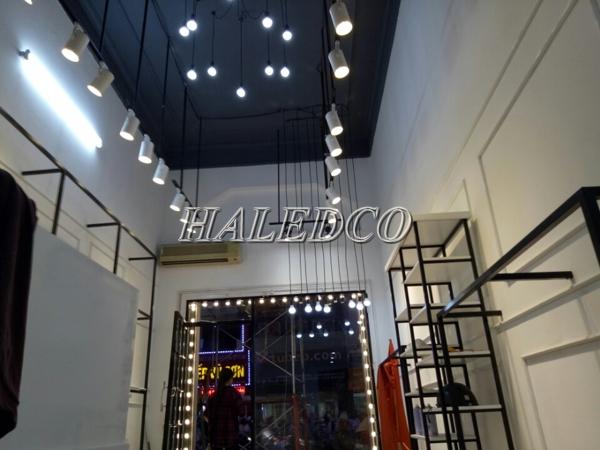 Đèn led ray rọi chíp COB HLSL2-30w chiếu sáng cửa hàng