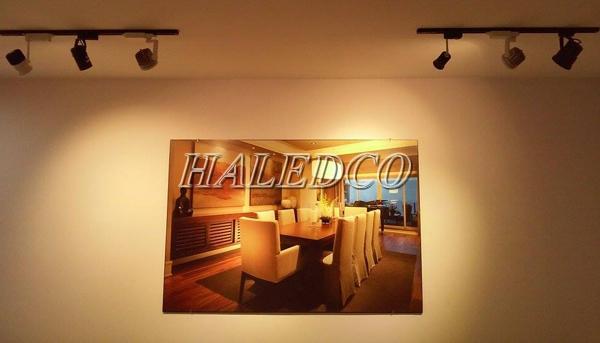 Đèn led ray rọi chíp mắt HLSL1-7w chiếu sáng phòng ăn