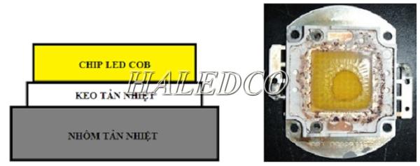 Chip led COB
