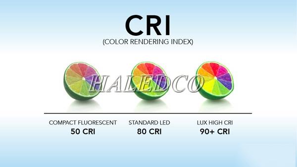 CRI là gì? Chỉ số hoàn màu là gì?