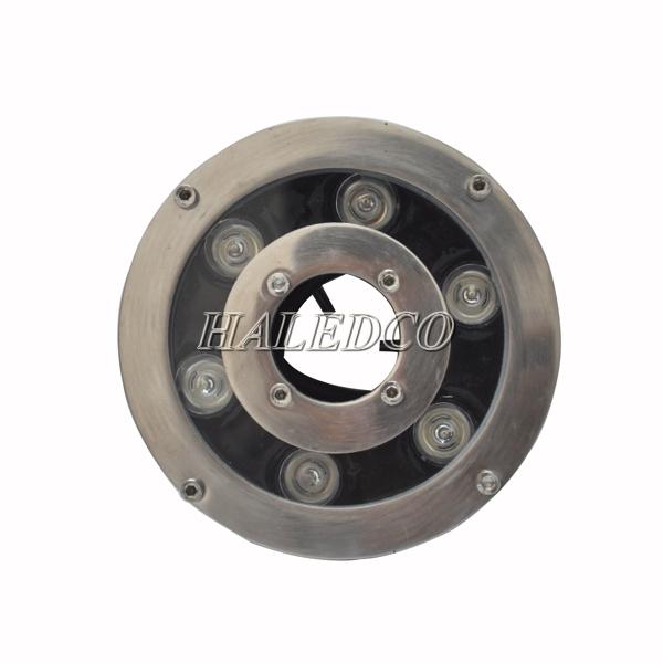 Mặt chíp đèn led dưới nước 6w đổi màu dạng bánh xe HLUW2-6w RGB
