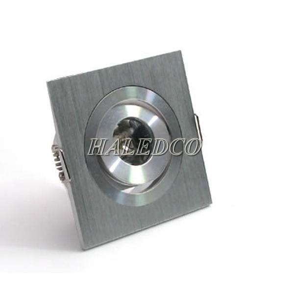 Đèn led âm trần HLDLV1-1w vuông đơn