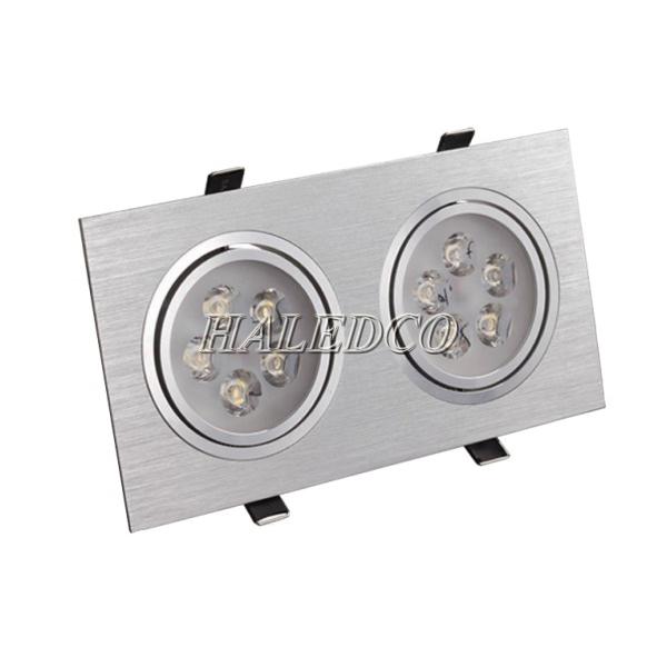 Đèn led âm trần vuông đôi HLDLV2-10w
