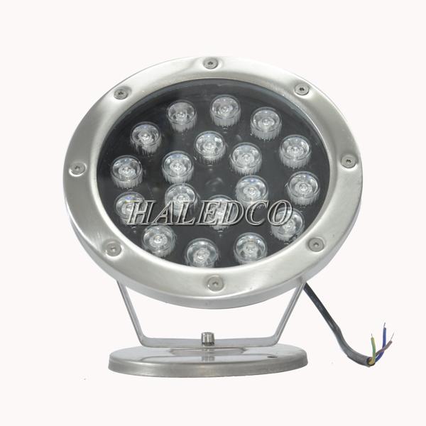 mặt chíp led đèn led dưới nước 18w dạng đế HLUW1-18w