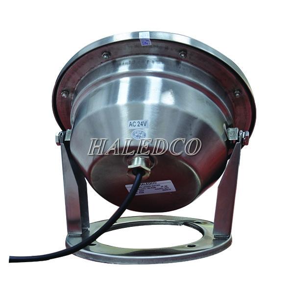 Bộ nguồn được đặt trong thân đèn led dưới nước 36w đổi màu dạng đế HLUW1-36 RGB
