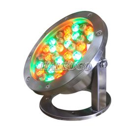 Đèn led âm nước HLUW1-36 RGB dạng đế