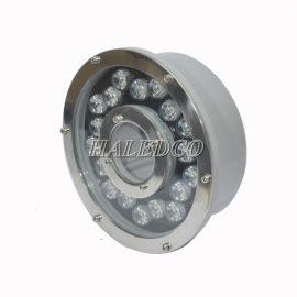 Đèn led âm nước HLUW2-18 dạng bánh xe