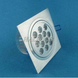 Đèn led âm trần HLDLV1-12w vuông đơn