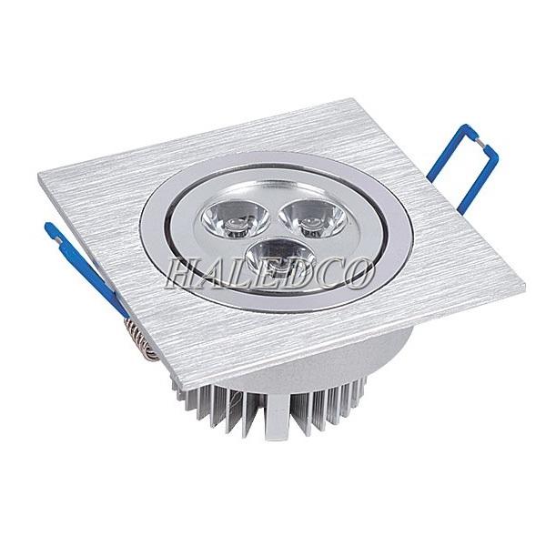 Đèn led âm trần vuông đơn 3w HLDLV1