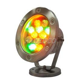 Đèn led âm nước HLUW1-12 RGB
