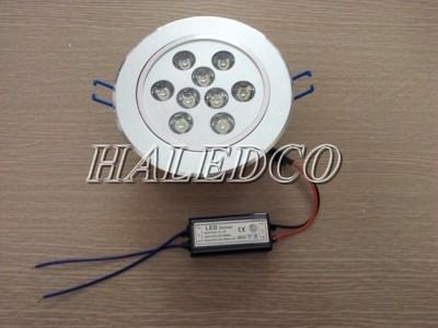 Nguồn đèn led âm trần HLDLT1-9w chíp mắt