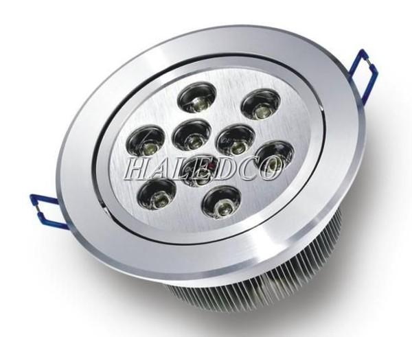 Chíp led đèn led âm trần HLDLT1-9w chíp mắt