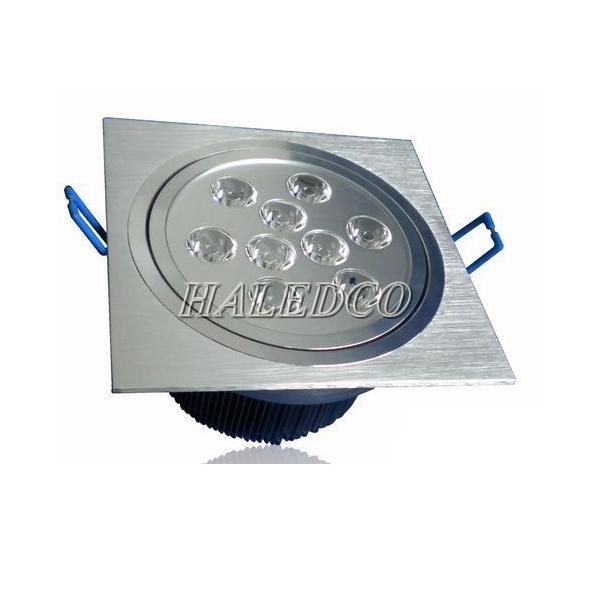 Đèn led âm trần HLDLV1-9w vuông đơn
