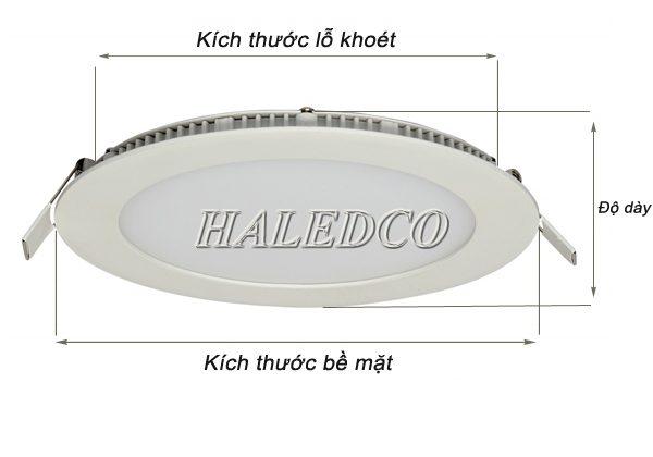 Lựa chọn kích thước đèn led âm trần phù hợp với lỗ khoét