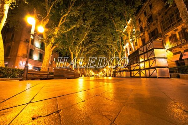 Haledco hệ thống chiếu sáng đường phố bằng đèn led