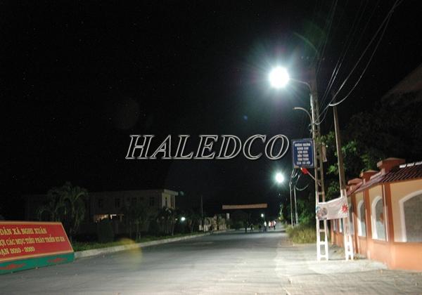 Ứng dụng chiếu sáng của đèn đường led 30w cho khu đô thị