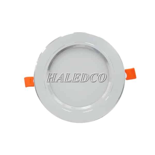 Chíp led sau tấm fin của đèn led âm trần HLDLT5-7w RGB đổi màu
