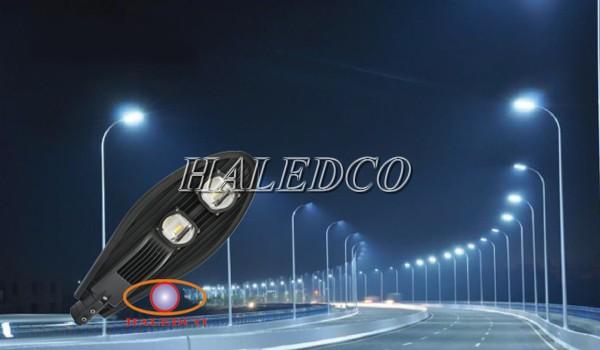 Dự án đèn đường led S7 chiếu sáng đường phố Sơn Tây