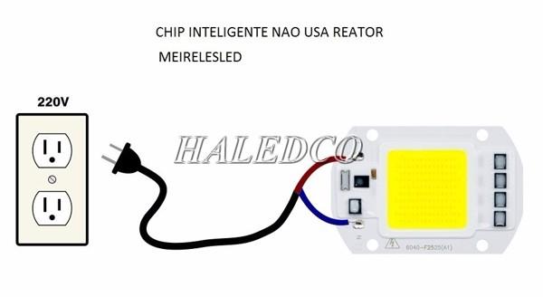 Chip led 100w sử dụng điện áp 220V