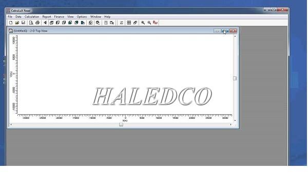 Phần mềm thiết kế tính toán chiếu sáng CALCULUX