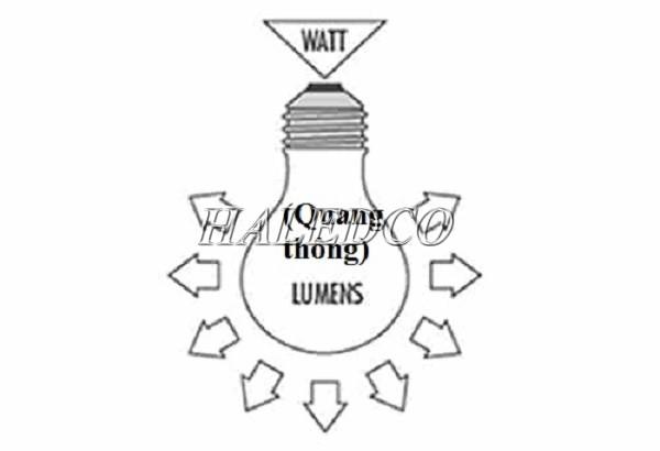 Quang thông là thông số kỹ thuật đèn led quan trọng