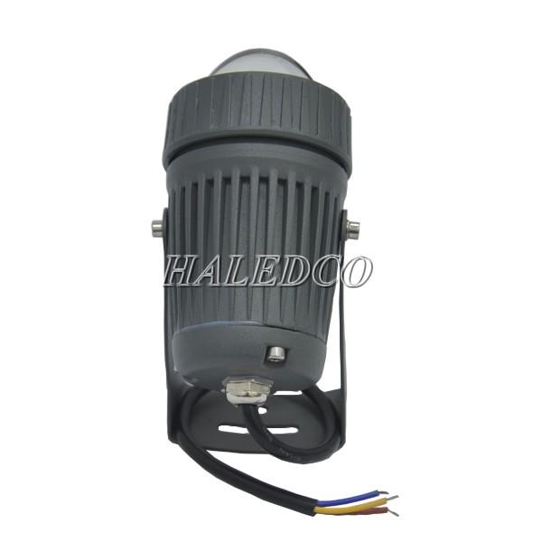 Bộ nguồn tích hợp trong thân đèn pha led HLFL81-10w chiếu cột