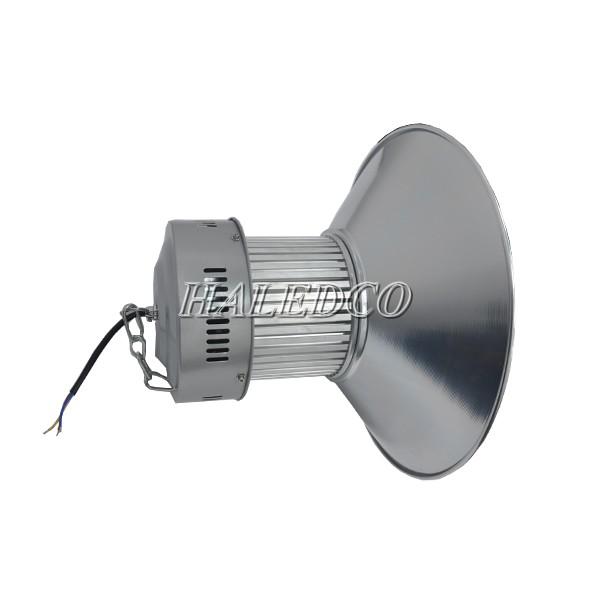 Thân đèn led nhà xưởng HLHB5-80w cấu tạo từ chất liệu nhôm