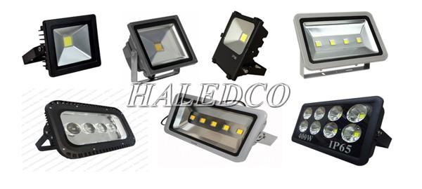 Các loại đèn pha led với nhiều kiểu dáng, cấu tạo khác nhau